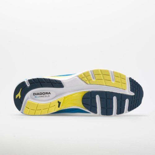 Diadora Mythos Blushield 2: Diadora Men's Running Shoes Light Blue/White