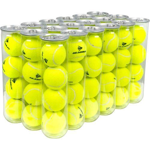 Dunlop Academy Practice Balls 4 ball Can 18 Cans: Dunlop Tennis Balls