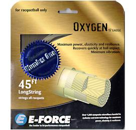 E-Force Oxygen 17: E-Force Racquetball String Packages