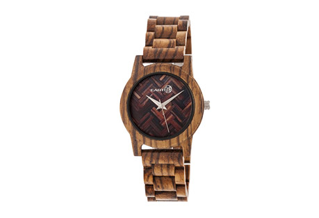 Earth Wood Crown Watch