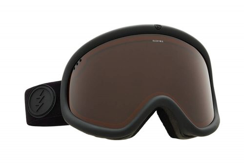 Electric Charger XL Goggle - matte black/brose, adjustable