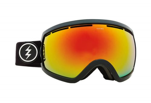 Electric EG2.5 Goggle - gloss black/brose/red chrome, adjustable