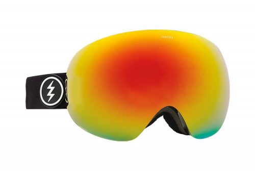 Electric EG3 Goggle - gloss black/brose/red chrome, adjustable