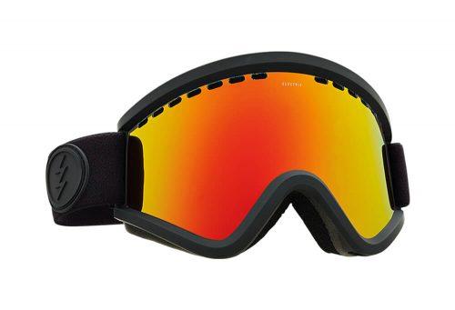 Electric EGV Goggle - matte black/brose/red chrome, adjustable