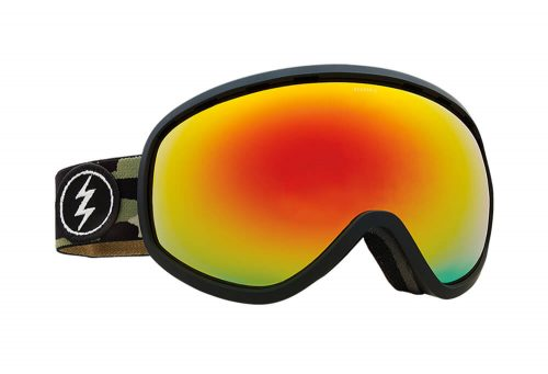 Electric Masher Goggle - camo/brose/red chrome, adjustable