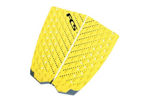 FCS T-2 Traction Pad - black/taxi cab yellow, one size