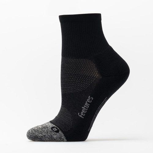 Feetures Elite Light Cushion Quarter Socks: Feetures Socks