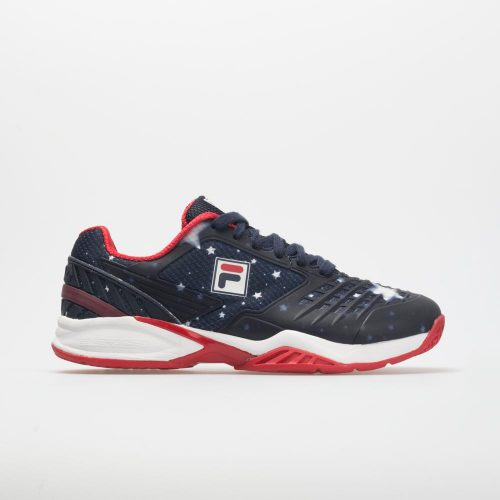 Fila Axilus Energized Limited Edition: Fila Women's Tennis Shoes Navy/White/Red