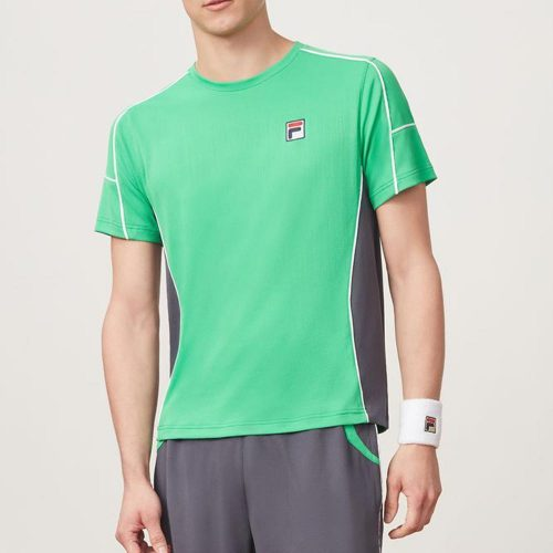 Fila Legends Colorblocked Crew Fall 2018: Fila Men's Tennis Apparel