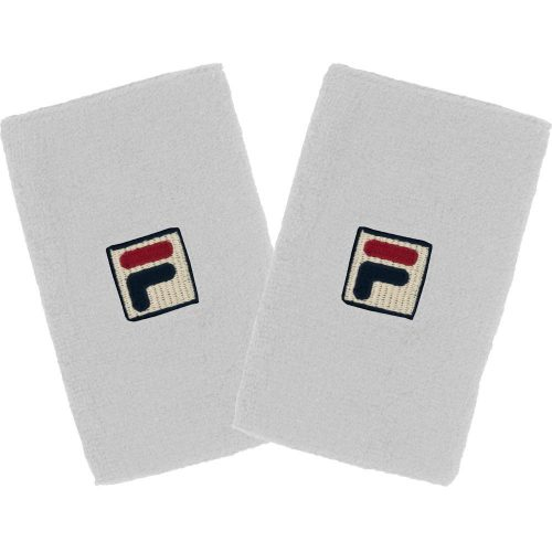 Fila Solid Double-Wide Wristbands: Fila Sweat Bands