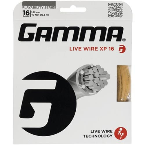 Gamma Live Wire XP 16: Gamma Tennis String Packages