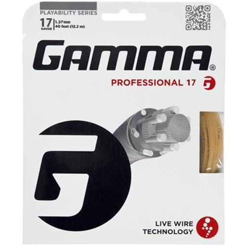 Gamma Professional 17: Gamma Tennis String Packages