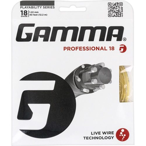 Gamma Professional 18: Gamma Tennis String Packages