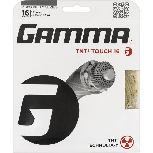Gamma TNT2 Touch 16: Gamma Tennis String Packages