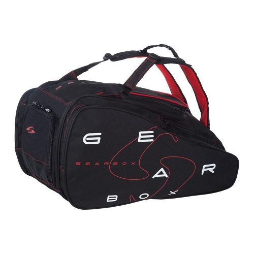 Gearbox Ally Bag Black/Red: Gearbox Racquetball Bags
