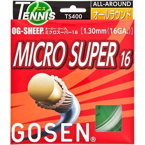 Gosen OG-Sheep Micro Super 16: GOSEN Tennis String Packages