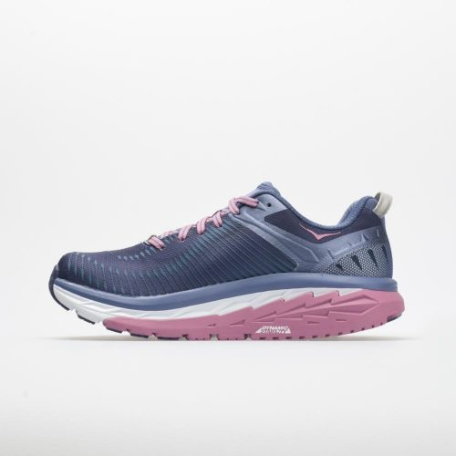 Hoka One One Arahi 2: Hoka One One Women's Running Shoes Marlin/Blue Ribbon