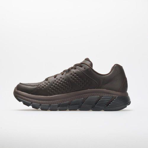 Hoka One One Gaviota Leather: Hoka One One Men's Walking Shoes Demitasse/Black