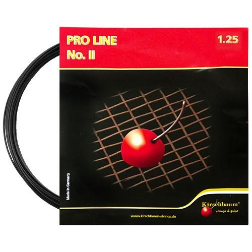 Kirschbaum Pro Line II 17 1.25 Black: Kirschbaum Tennis String Packages
