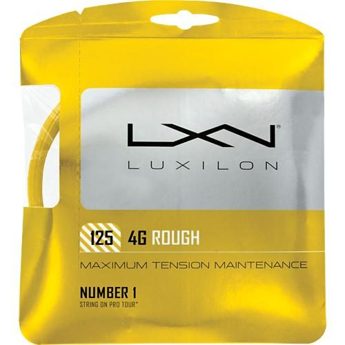 Luxilon 4G Rough 16L (1.25): Luxilon Tennis String Packages
