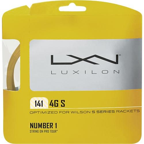 Luxilon 4G S 15 (1.41): Luxilon Tennis String Packages