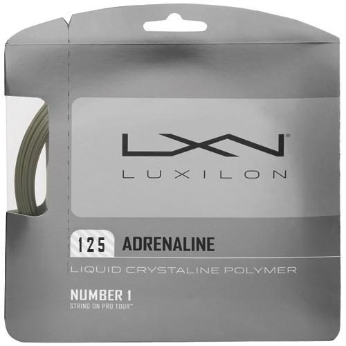 Luxilon Adrenaline 16L (1.25): Luxilon Tennis String Packages