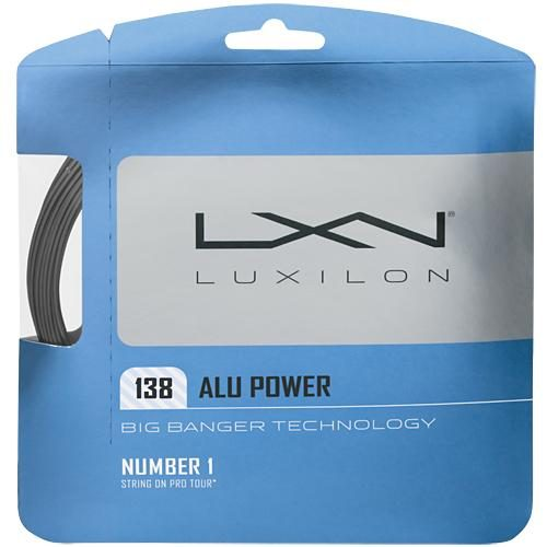Luxilon Big Banger ALU Power 15L (1.38): Luxilon Tennis String Packages