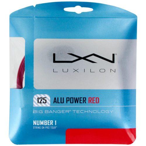 Luxilon Big Banger ALU Power 16L (1.25) LE Red: Luxilon Tennis String Packages