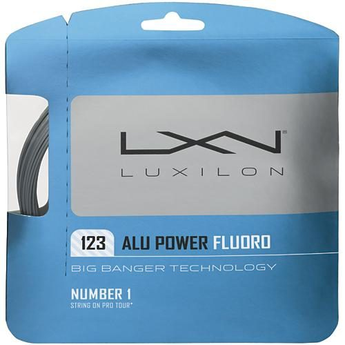 Luxilon Big Banger ALU Power Fluoro 17 (1.23): Luxilon Tennis String Packages