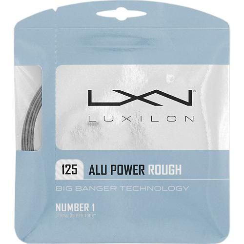 Luxilon Big Banger ALU Power Rough 16L (1.25): Luxilon Tennis String Packages