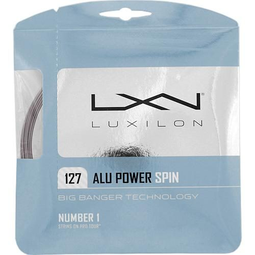 Luxilon Big Banger ALU Power Spin 16 (1.27): Luxilon Tennis String Packages