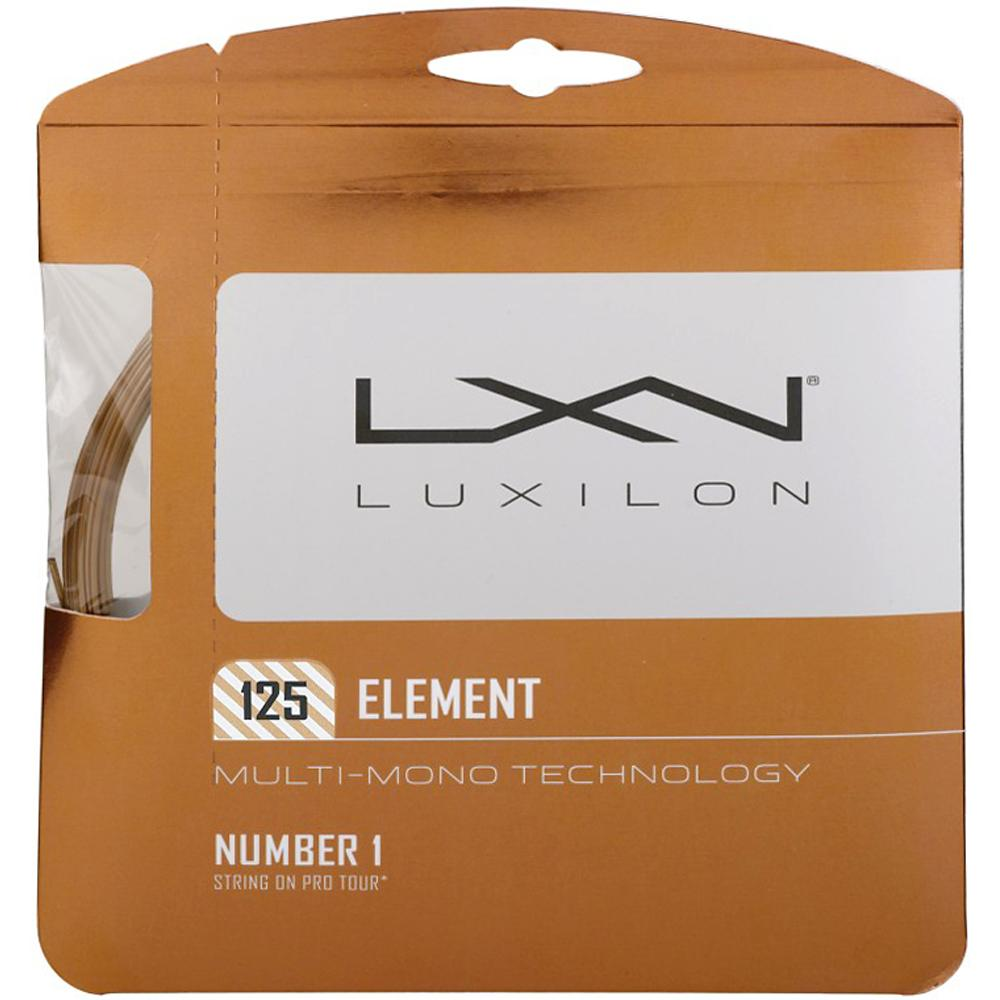 Luxilon Element 16L (1.25): Luxilon Tennis String Packages