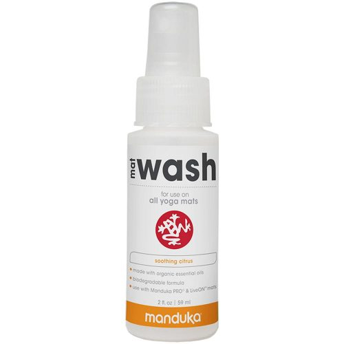 Manduka Mat Wash Renew Spray 2oz Bottle: Manduka Yoga Mats & Accessories
