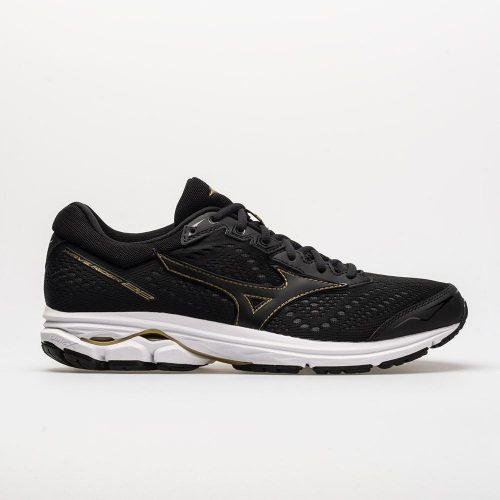 Mizuno Wave Rider 22: Mizuno Men's Running Shoes Black/Gold