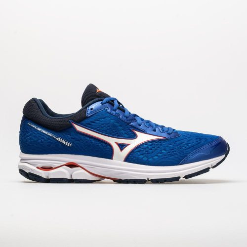 Mizuno Wave Rider 22: Mizuno Men's Running Shoes Nautical Blue/Cherry Tomato