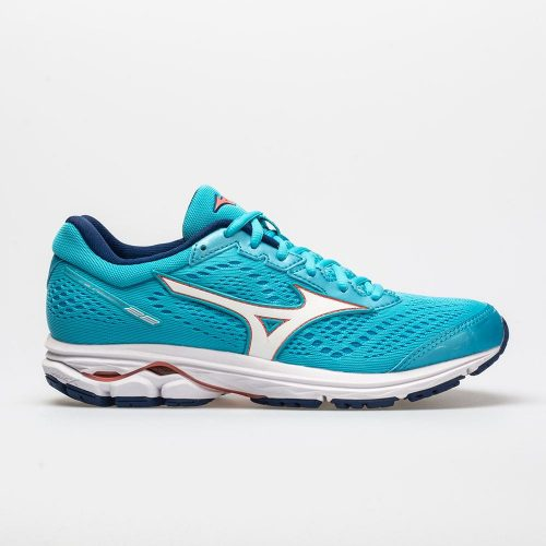 Mizuno Wave Rider 22: Mizuno Women's Running Shoes Blue Atoll/Georgia Peach