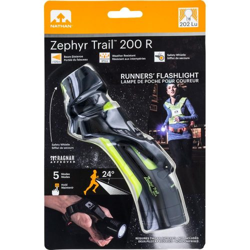 Nathan Zephyr Fire 200 R Trail Hand Torch: Nathan Reflective, Night Safety