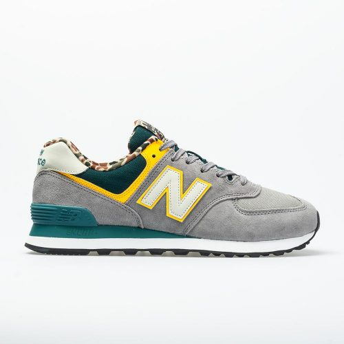 New Balance 574 Hi-Vis: New Balance Men's Running Shoes Marblehead/Jade