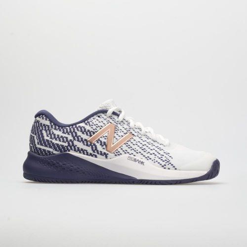 New Balance 996v3: New Balance Women's Tennis Shoes White/Wild Indigo