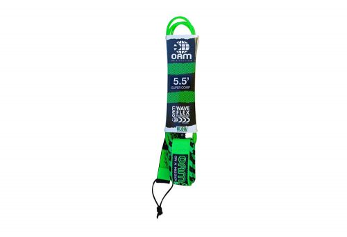 OAM Super Comp 5.5' Torrey Meister Leash - lime glow, one size