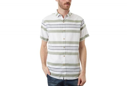 PX Canaan Short Sleeve Shirt - Men's - white, large