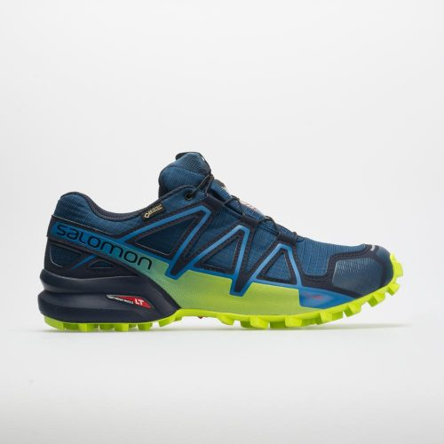 Salomon Speedcross 4 GTX: Salomon Men's Running Shoes Poseidon/Navy Blazer/Lime Green