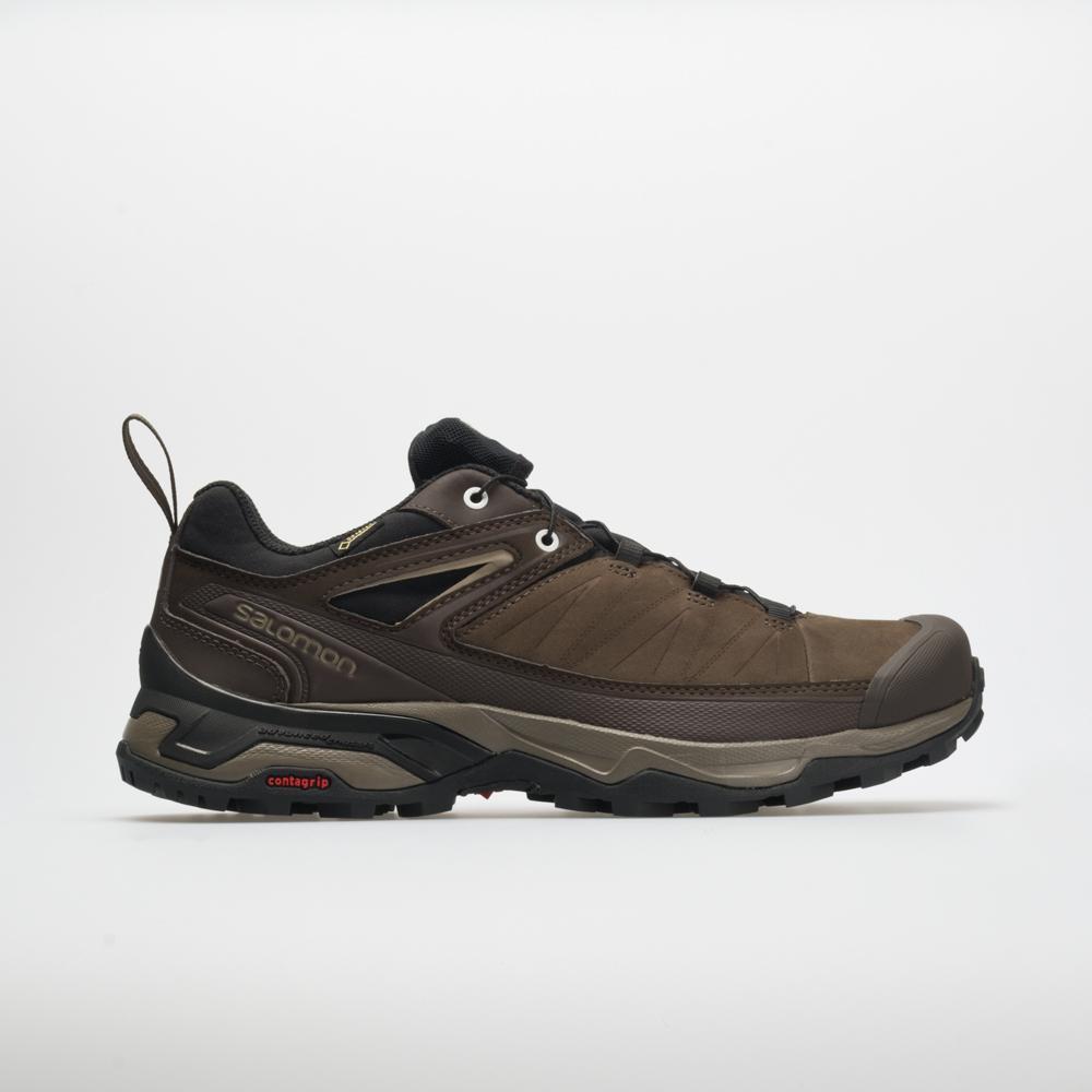 Salomon X Ultra 3 LTR GTX: Salomon Men's Hiking Shoes Delicioso/Bungee Cord/Vintage Khaki