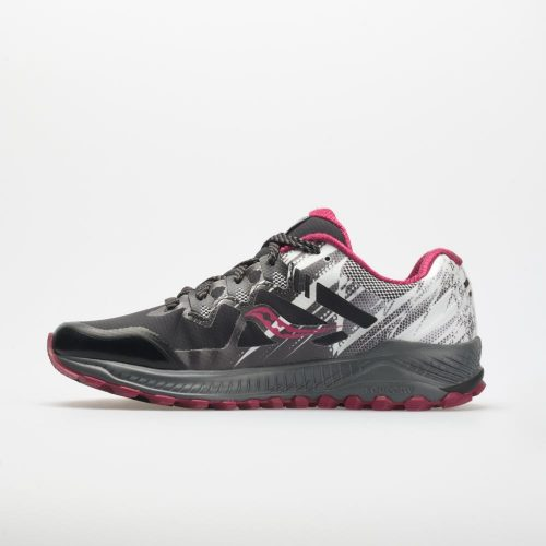 Saucony Peregrine 8 ICE+: Saucony Women's Running Shoes Black/White