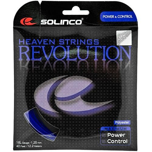 Solinco Revolution 16L 1.25: Solinco Tennis String Packages
