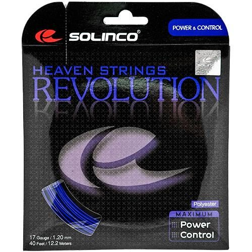 Solinco Revolution 17 1.20: Solinco Tennis String Packages