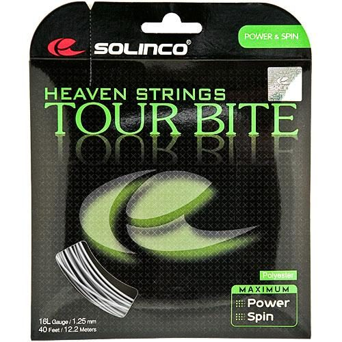 Solinco Tour Bite 16L 1.25: Solinco Tennis String Packages