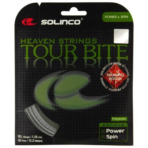 Solinco Tour Bite Diamond Rough 16L 1.25: Solinco Tennis String Packages