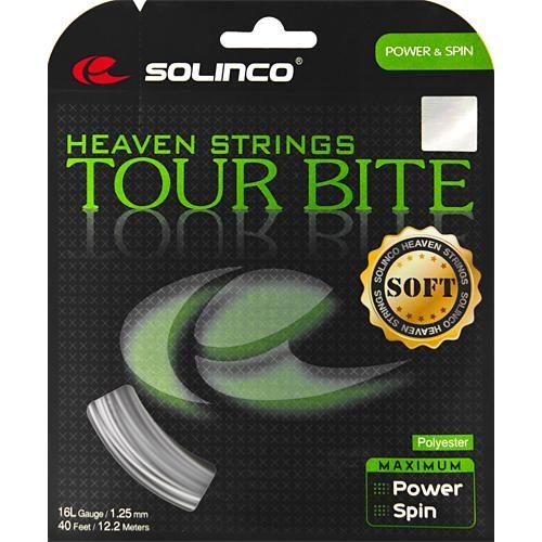 Solinco Tour Bite Soft 16L 1.25: Solinco Tennis String Packages