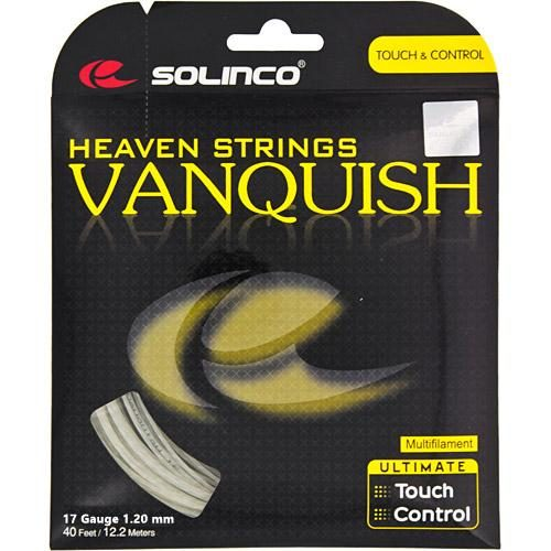 Solinco Vanquish 17 1.20: Solinco Tennis String Packages